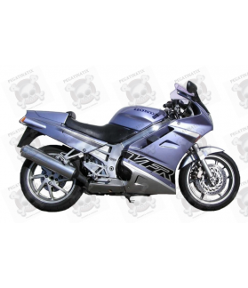 HONDA VFR 750 YEAR 1993 GREY/BLACK STICKERS