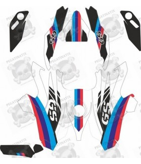 BMW 1200GS year 2013 - 2017 M Sport stickers