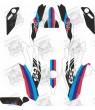 BMW 1200GS year 2013 - 2017 M Sport stickers