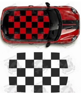 MINI COOPER ROOF FOR THE CEILING FROM YEAR 2001 STICKERS