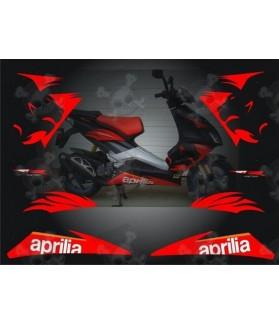 Stickers APRILIA SR50 R 2008