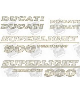 DUCATI 900 Super Sport STICKERS