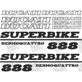 Ducati 888 Superbike desmodue STICKERS