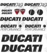 Ducati 749 Testastretta STICKERS
