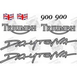 TRIUMPH Daytona 900 YEAR 1993-1994 STICKERS