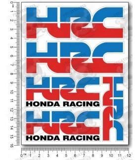HRC Repsol small Decal set 12x16 cm Laminated