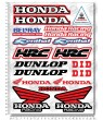 Honda Racing motocross Sponsors HRC Large Decal set 24x32 cm Laminated