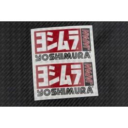 YOSHIMURA exhaust decals stickers 2 pcs HEAT PROOF!
