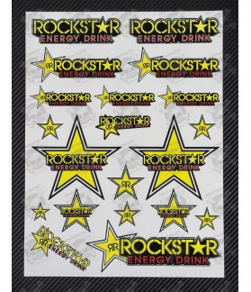 Rockstar Large Decal set 24x32 cm Laminated