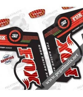 DECALS STICKERS FOX 32 SPECIAL EDITION 2 2014