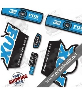 DECALS STICKERS FOX 32 TALAS DECALS KIT BLACK FORKS