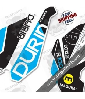 DECALS STICKER FORK MAGURA DURIN R100