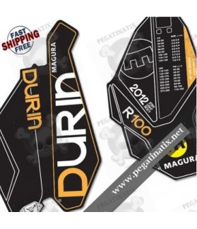 DECALS STICKER FORK MAGURA DURIN R100B