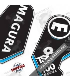 DECALS STICKER FORK MAGURA TS8B