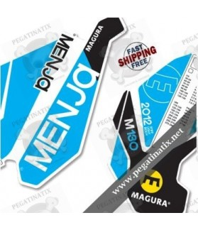 DECALS STICKER FORK MAGURA MENJA 130