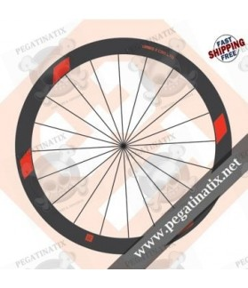 WHEEL RIMS 3T ORBIS II C50 LTD DECALS KITS