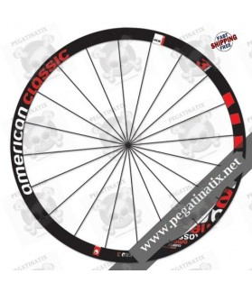 WHEEL RIMS 3T ORBIS II C50 LTD DECALS KITS BLACK