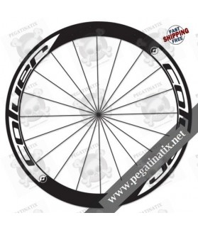 WHEEL RIMS STICKERS COLUER CUSTOM