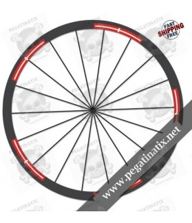 WHEEL RIMS STICKERS CUSTOM SWISSMADE 30 mm