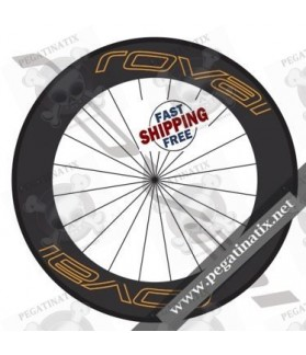 WHEEL RIMS ROVAL CARBON 90 mm DECALS KIT