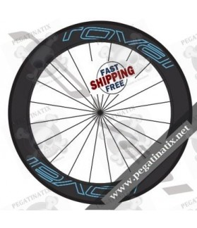 WHEEL RIMS ROVAL ROVAL CLX 64 DECALS KIT