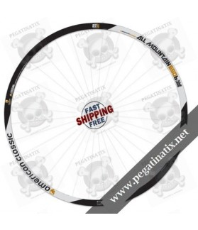WHEEL RIMS AMERICAN CLASSIC ALL MOUNTAIN 650B DECALS KIT