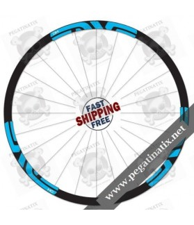 STICKERS WHEEL PROTECTED ENVE DH 2015 STICKERS KIT