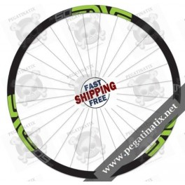 STICKERS WHEEL PROTECTED ENVE M SERIES 50 FIFTY STICKERS KIT