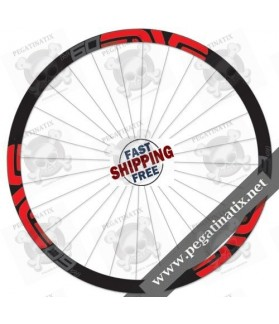 STICKERS WHEEL ENVE M SERIES 60 FORTY STICKERS KIT