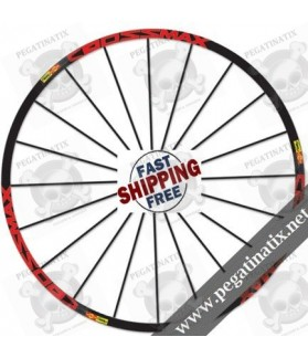 STICKERS WHEEL MAVIC CROSSMAX SL STICKERS KIT