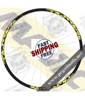 STICKERS WHEEL MAVIC CROSSRIDE 2016 STICKERS KIT