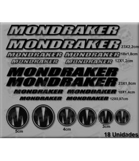 Sticker decal bike set Mondraker