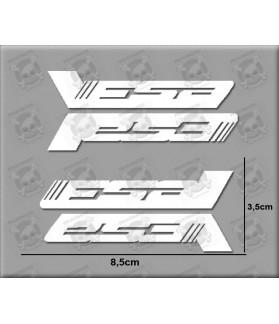 Sticker decal bike set FSA