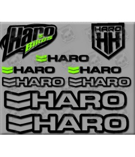 Sticker decal bike set HARO