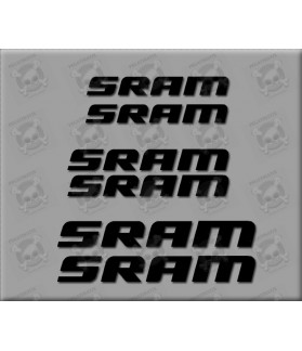 Sticker decal bike SRAM