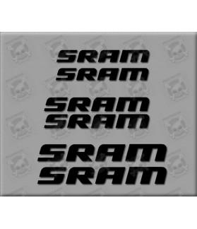 Sticker decal bike SRAM