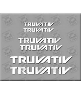 Sticker decal bike TRUVATIV