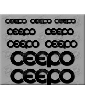 Sticker decal bike CEEPO