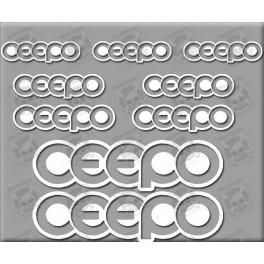 Sticker decal bike CEEPO