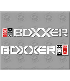 Sticker decal bike ROCK SHOX REBA BOXXER 15 x 2,2 cm