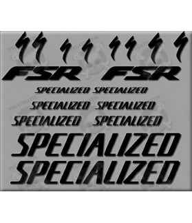 Sticker decal bike SPECIALIZED