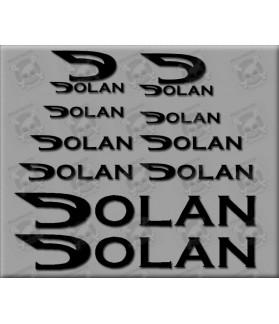 Sticker decal bike DOLAN
