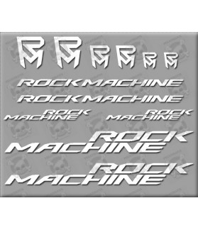 Sticker decal bike ROCK MACHINE
