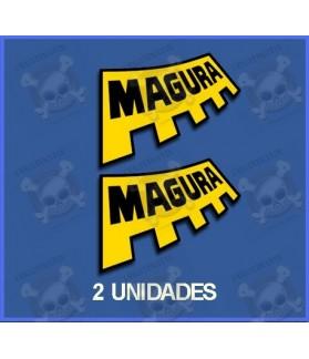 Sticker decal bike Magura