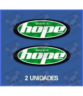 Sticker decal bike Hope