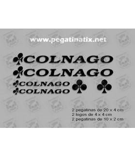 Sticker decal bike Colnago kit