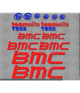 Sticker decal bike BMC TE02