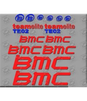 Sticker decal bike BMC TE02