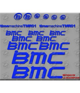 Sticker decal bike BMC TMR01