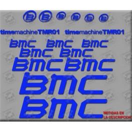 Sticker decal bike BMC TMR01